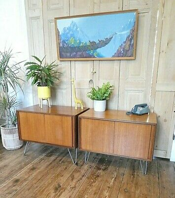 £270 • Buy One Mid Century G Plan Form Five Compact Sideboard Cupboard Retro Hairpin Legs
