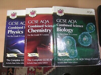 £7.50 • Buy GCSE Combined Science - Physics, Chemistry, Biology - Used - AQA Trilogy
