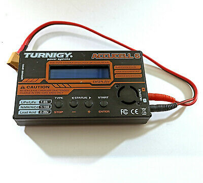 £18.40 • Buy Turnigy Accucell 6 12v 6A LiPo LiFe NiMh NiCd Lead Acid Battery Balance Charger