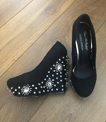 £7 • Buy Miss Selfridge Limited Edition Wedges 5 Bloggers Favourite