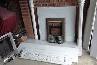 £120 • Buy Brass Gas Fire, External Flue And Cage