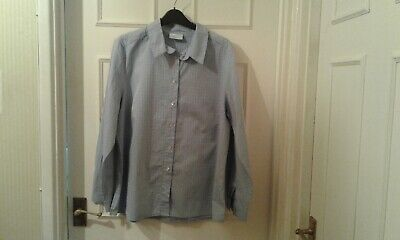 £1.99 • Buy Ladies Cotswold Collection Blue Long Sleeve Shirt/blouse  Size 16