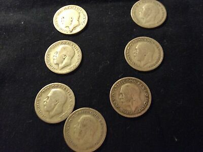 £1.50 • Buy George V....sixpence Coins X 7..