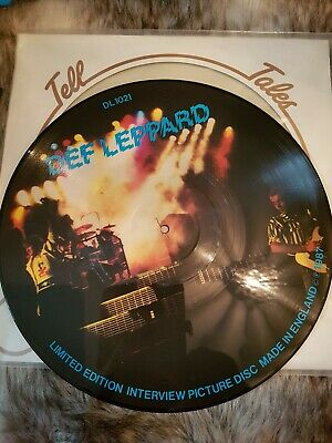£15 • Buy Def Leppard - Tell Tales - Ltd Edition Interview Picture Disc Vinyl 12  Single