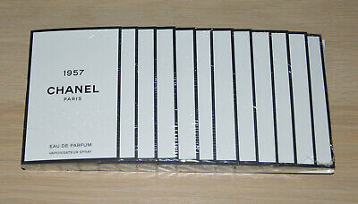 £40.01 • Buy Chanel Les Exclusifs 1957 Edp Sealed Pack Of 12 Samples X 1.5ml Each
