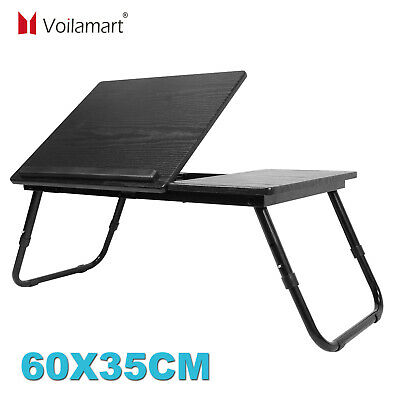 £13.49 • Buy Adjustable Portable Laptop Stand Table Lazy Lap Sofa Bed PC Notebook Desk Tray