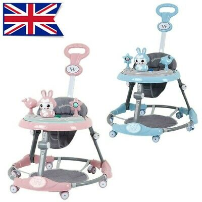 £41.99 • Buy Baby Walker First Step Push Along Bouncer Music Ride On Car Melody Girls Boys