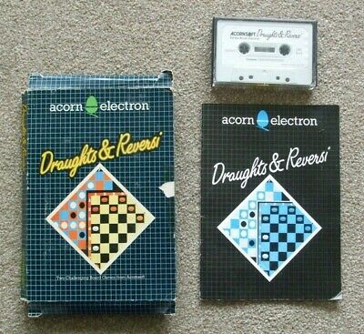 £3.10 • Buy Acorn Electron Draughts & Reversi Bbc Micro/electron Computer Game Cassette Tape