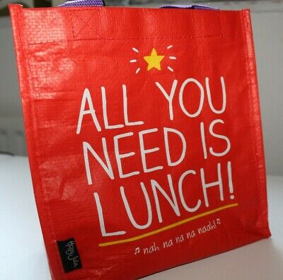 £3 • Buy Tote Bag - Wild Wolf Lunch Bag- Multi Colour- Handy- Brand New