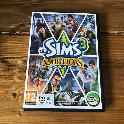 £7.50 • Buy THE SIMS 3 AMBITIONS Pc DVD / Apple MAC Add-On Expansion Pack SIMS3