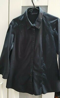 £2.30 • Buy Women's Button-up Collared Shirt M&S Collection (Small/Medium)