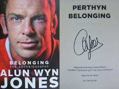 £24.95 • Buy Signed Book Belonging The Autobiography By Alun Wyn Jones Hdbk 2021 Red Edge