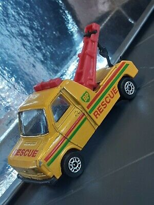£12 • Buy Vintage 1960s Corgi Toys BP Ford Transit Rescue Diecast Yellow Toy Tow Truck