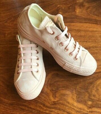 £19.99 • Buy Converse All Star, Dusty Pink Suede, Size 5, BNWB