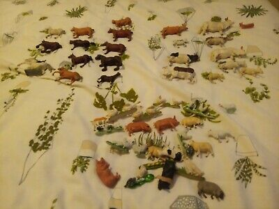 £0.99 • Buy Vintage 1970s Farm Animals  Britains Horse Pig Sheep  Geese Goat