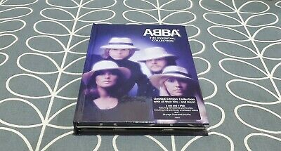£29.99 • Buy ABBA The Essential Collection 40th Anniversary 2CD+DVD Book Box Set GREAT COND