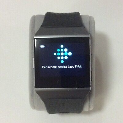 AU64.92 • Buy Fitbit Ionic Fb503 Watch Charcoal/smoke Grey Strap Working Used W/ Charger