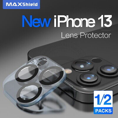 AU7.99 • Buy 2X For IPhone 13 Pro Max MAXSHIELD Camera Lens Tempered Glass Screen Protector