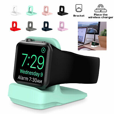 AU13.29 • Buy For Apple Watch 6 SE 5 4 3 2 1 Charging Stand Holder Dock Station Mount Colorful