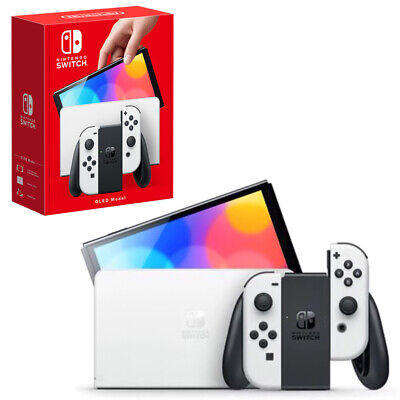 AU552.95 • Buy Nintendo Switch OLED Model White Console NEW PREORDER 08/10
