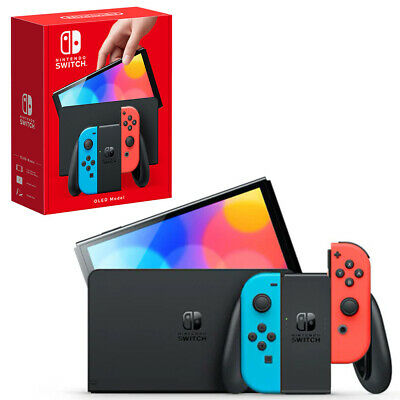 AU552.95 • Buy Nintendo Switch OLED Model Neon Console NEW PREORDER 08/10