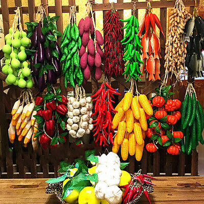 £3.94 • Buy Artificial Simulation Food Vegetables Fake Chili Pepper Fruit Photography Pr JD
