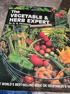£1 • Buy The Vegetable And Herb Expert: The World's Best-selling Book On Vegetables & He…