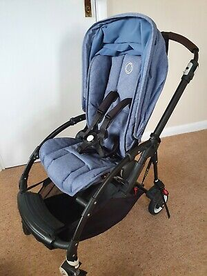 £350 • Buy Bugaboo Bee 5 With Bassinet, Footmuff, Raincover, Travel Bag, Lascal Buggy Board