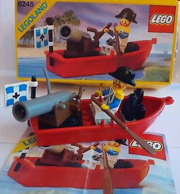 £15.75 • Buy Vintage Lego Pirates 6245 Complete Harbor Sentry With Box & Instructions