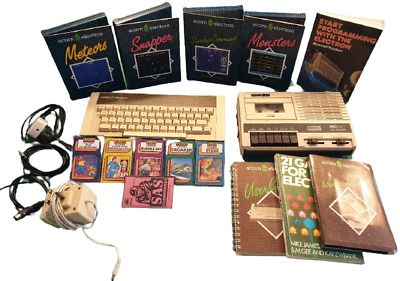 £159.99 • Buy Vintage Acorn Electron And 10 Computer Games + Cassette Plaer And Leads