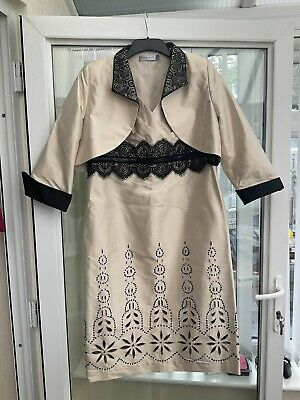£15 • Buy Mother Of The Bride Groom Dress And Jacket By Mireia Size 16