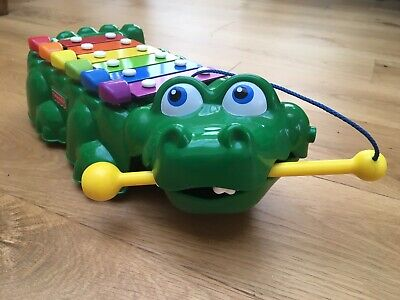 £3.30 • Buy Fisher Price Crocodile Xylophone / Pull-along Toddler Toy