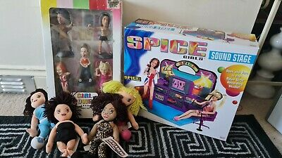 £250 • Buy *RARE* Spice Girls Superstar Collection Dolls With Soundstage Beanies ++++ ***