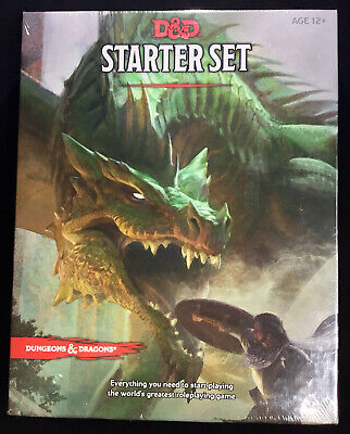 AU36 • Buy DUNGEONS AND DRAGONS Starter Set 2014 Unopened Ages 12+ Printed In USA