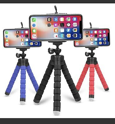 AU5.99 • Buy Camera Phone Holder Flexible Octopus Mini Tripod Stand For IPhone And Others