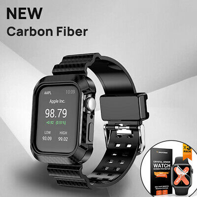 AU16.99 • Buy MaxShield For Apple Watch Band Series SE 7 6 5 4 41 45 44 40 38 42mm Strap Case