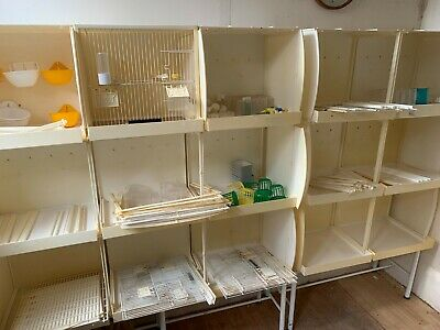 £100 • Buy Canary Breeding Cages Block Of 15