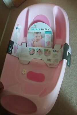 £9 • Buy Summer Sling Baby Bath Tub From New Born To Stage 3 Pink