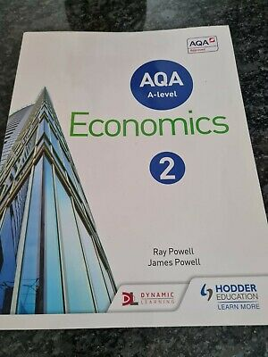 £12.20 • Buy AQA A-level Economics Book 2 By Powell, James Book The Cheap Fast Free Post