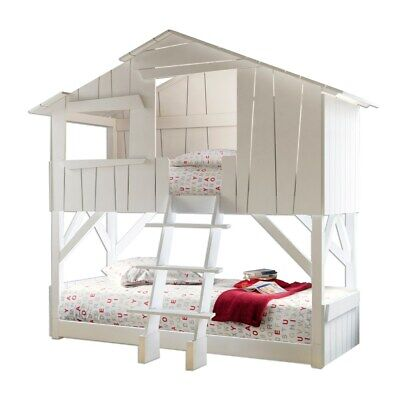 £800 • Buy Mathy By Bols Treehouse Bunk Bed In White With Instructions Excellent Condition