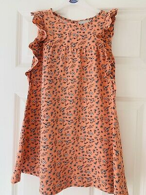 £2.99 • Buy Girls Coral Age:8 Years Ditsy Floral Dress Worn Once -perfect
