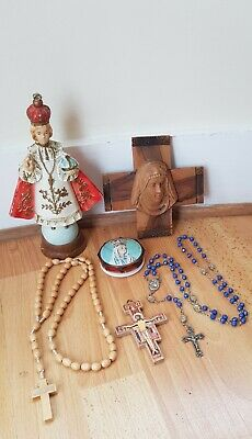 £12 • Buy Collection Of Religious Catholic Items