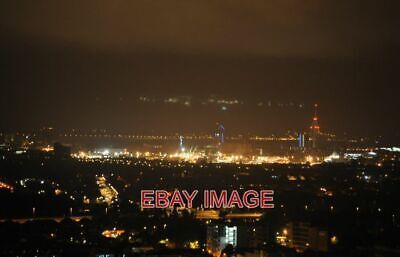 £1.85 • Buy Photo  Portsmouth Night Time Portsdown Hill View