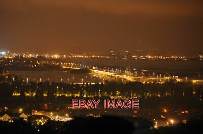 £1.85 • Buy Photo  Portsmouth Twilight Portsdown Hill View Portsmouth Is Twinkling In The Ni