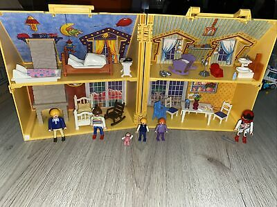 £8.50 • Buy Playmobil Take Along House With Firniture Accessories And Figures