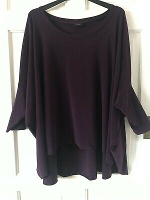 £5.01 • Buy Quirky Aubergine Top Freesize