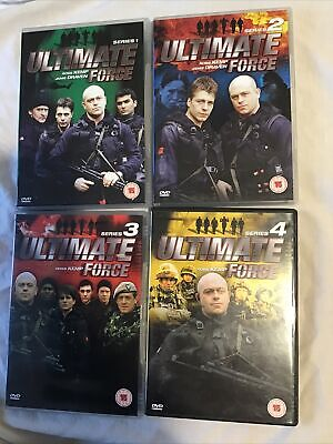 £5 • Buy Ultimate Force DVD Series 1-4 Complete Box Set.