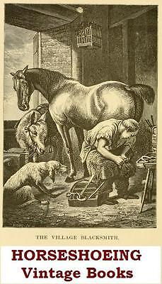 £3.99 • Buy Horseshoeing Collection 40 Vintage Horse Shoeing Farriery Books On Data Disc