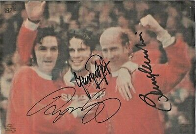 £23 • Buy George Best, Bobby Charlton, Ryan Giggs,  (Manchester United) Signed Picture