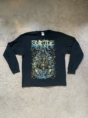 £36.22 • Buy 2014 Suicide Silence Inherit The Crown Gildan Heavy L/S Size XL (See Photos)